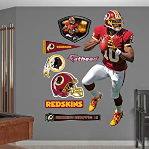 NFL Washington Redskins Robert Griffin III Wall Graphics by Fathead