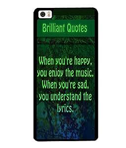 Printvisa 2D Printed Quotes Designer back case cover for Xiaomi Mi 5 - D4534