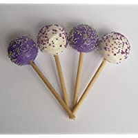 Cake Pops Purple And White Set Of 4 Perfect For 18 Inch American Girl Dolls