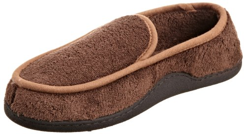 Cheap Isotoner Men's Microterry Slip On Slipper (A91117 NV1)