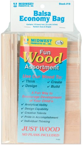 Midwest Products Project Woods Balsa Economy Bag - 1