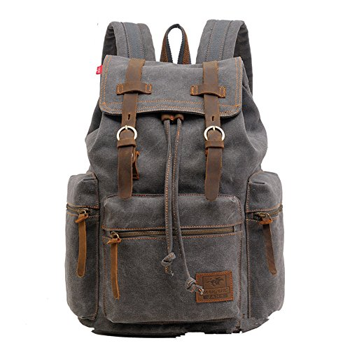 sechunk-unisex-canvas-leather-backpack-gray