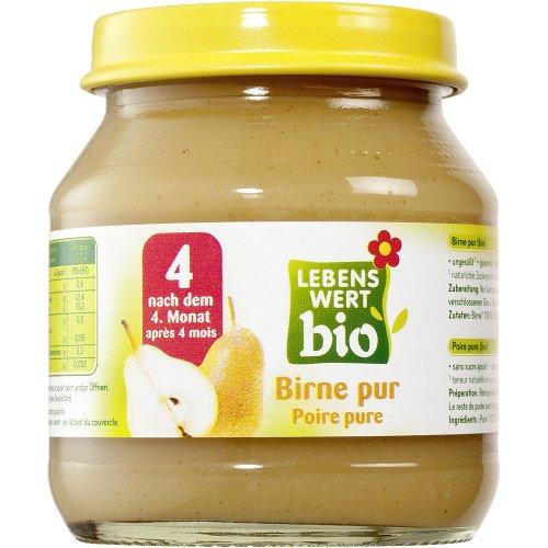 Lebenswert bio Bio Birne pur 125 gr