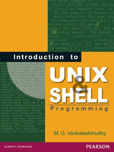 Introduction to Unix and Shell Programming, by M. G. Venkateshmurthy