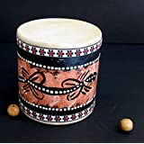 Djembe Drum - Small Drum - Damaru Hand Drum, Mini Drum, Professional Sound - JIVE BRAND