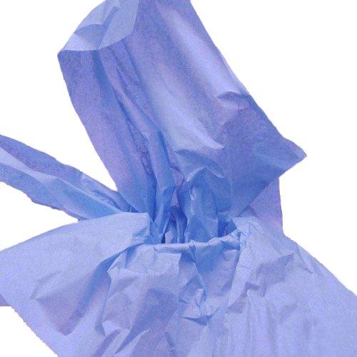 Dress My Cupcake DMC79485 100-Piece Tissue Paper, 20 by 14-Inch, Cornflower Blue