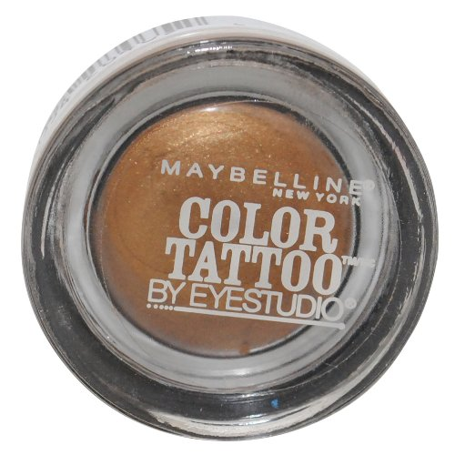 Maybelline Color Tattoo Eyeshadow Limited Edition - 300 Gold Shimmer ...
