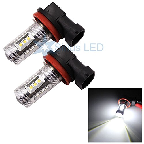 H11 22W Cree Smd Led Fog Light Projection Output Drl Driving Light Replacement Bulbs