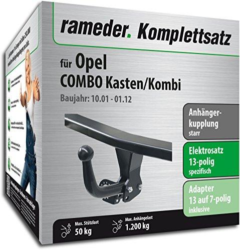 RAMEDER-Komplettsatz-Anhngerkupplung-starr-13pol-Elektrik-fr-Opel-COMBO-KastenKombi-116964-04818-1