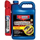Bayer Advanced 700335 Carpenter Ant and Termite Killer Power Sprayer, 1.3-Gallon