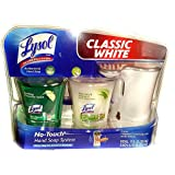 Lysol Classic White No-Touch Hand Soap System