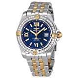 Breitling Cockpit Lady Diamond Gold and Stainless Steel Ladies Watch B7135653-C760TT