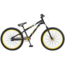 Mongoose Twenty4 24in Boy's Jumping Bike Black