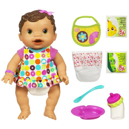 Baby Alive Changing Time Baby Brunette B003a6alb4