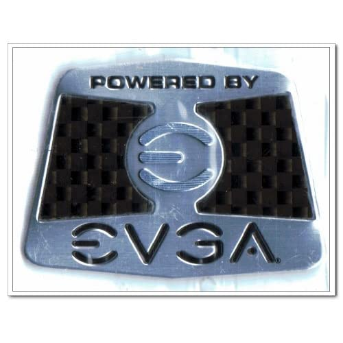 Amazon.com: POWERED BY EVGA Logo Stickers Badge for Laptop and Desktop