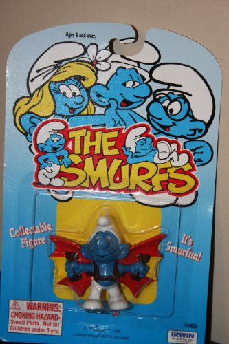 Buy Low Price Schleich The Smurfs Collectible Smurf Figure Wearing Wings (B004DJZRX4)