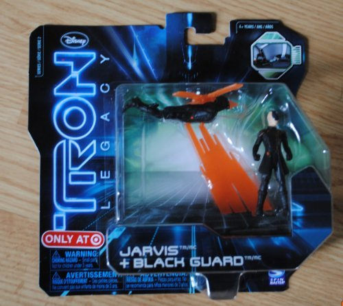Disney Tron Legacy Jarvis & Black Guard Figures