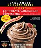 SANS SUCRE Chocolate Cheesecake Mousse Mix - Gluten Free