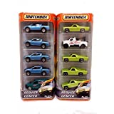 Matchbox Multi Set Of Hard To Find 2010 Service Center Vehicle No. 01 - 4 70 Chevy El Camino, Tow Tr