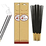 Panchratan Perfumed Charcoal Incense Sticks ( Pack Of 10, 23cms Amber Fragrance )