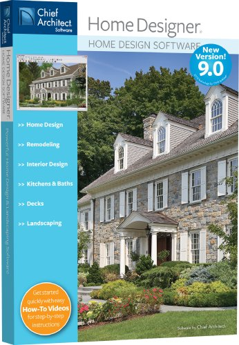 Architecture chief architect home designer 9 0 fun for Easy architectural software