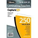 Fellowes Capture A4 125 Micron Laminating Pouch (Pack of 250)