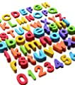 Magnetic Letters And Numbers By Curious Columbus Set Of 114 Premium Quality Bright Colorful Foam Alphabet Magnets Top Rated Best Educational Toy For Preschool Learning Spelling And Counting by Little Red Shepherd