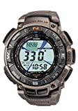 Casio Men's PAG240T-7CR Pathfinder Triple-Sensor Multi-Function Titanium Watch