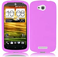 For HTC One VX Silicone Jelly Skin Cover...