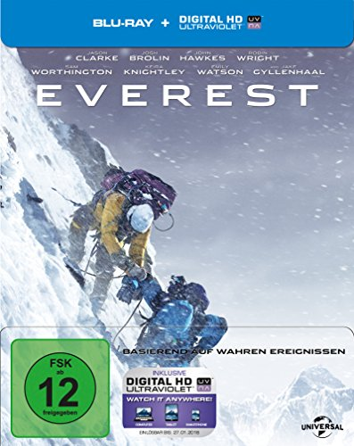 Everest - Steelbook (+ Digital Copy) [Blu-ray] [Limited Edition]