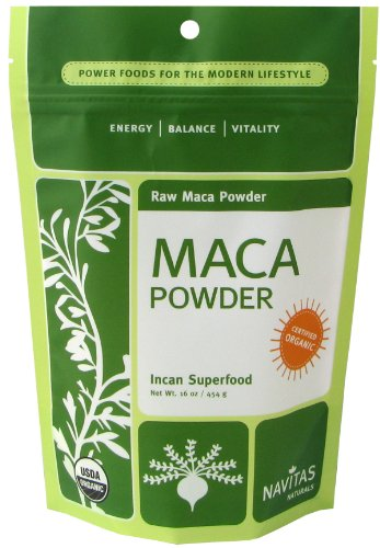 Navitas Naturals Organic Raw Maca Powder, Incan Superfood, 16-Ounce Pouch