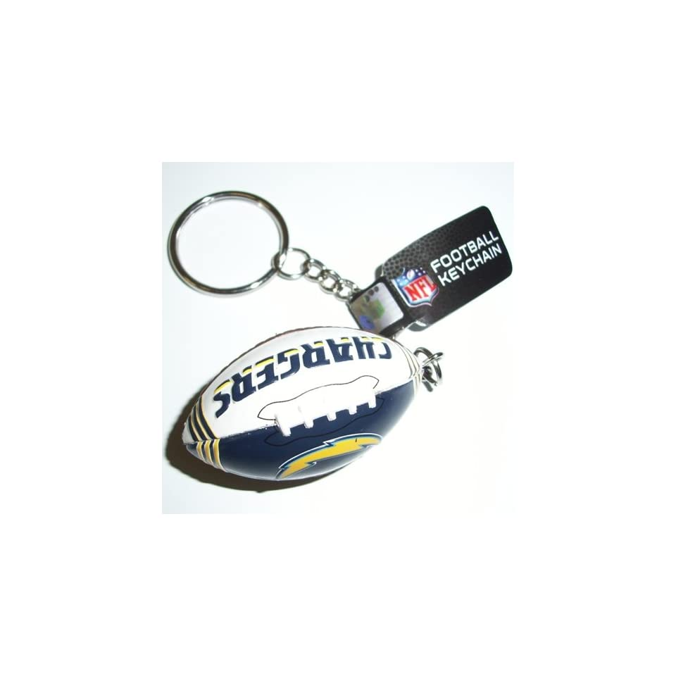San Diego Chargers NFL Team Image Football Key Chain