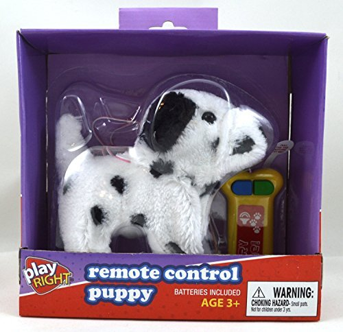 Remote Control Dalmatian Puppy (White with Black Spots)