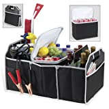 Trunk Organizer and Cooler Set (Black)