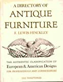 A Directory of Antique Furniture: The Authentic Classification of European and American Designs