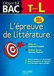 Objectif Bac Epreuve De Litt�rature T...