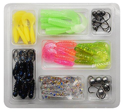 jshanmei-soft-fishing-lure-set-lead-jig-head-hook-grub-worm-soft-fishing-lures-soft-baits-shads-plas