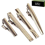 BMC 4pc Metal Alloy Mens Luxury Fashi…