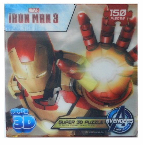 Ironman 3 Super 3D 150 Piece Puzzle by Cardinal
