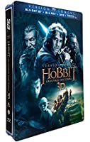 Le Hobbit : un voyage inattendu - version longue - Blu-ray 3D + Blu-ray + DVD + DIGITAL Ultraviolet - Edition Limitée Steelbook(TM) Jumbo