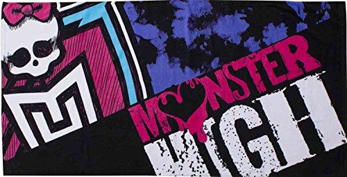 Spiaggia con licenza ufficiale Kids Monster High Beasties piscina asciugamano/doccia.