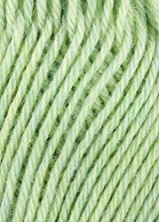 Plymouth - Galway Worsted Knitting Yarn - Key Lime Heather (# 741)
