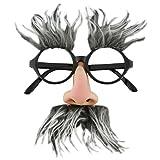 Adult STD- Geezer/Groucho Marx Glasses