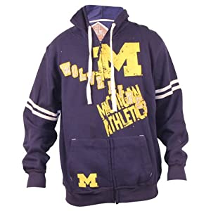 NCAA Athletics Full Zip Hoodie by 3 Four