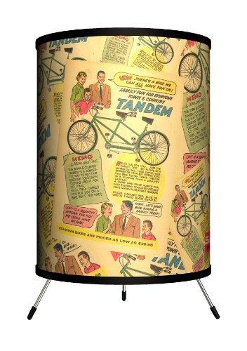 Lamp-In-A-Box TRI-SCH-TANDE Schwinn - Tandem Tripod Lamp