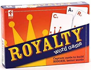 Royalty Word Making Card Game