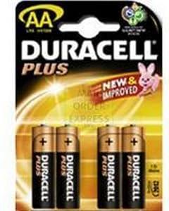 Duracell - Pack de 4 piles LR06 alca plus