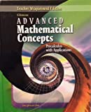 Advanced Mathematical Concepts: Precalculus with Applications, Teachers Wraparound Edition