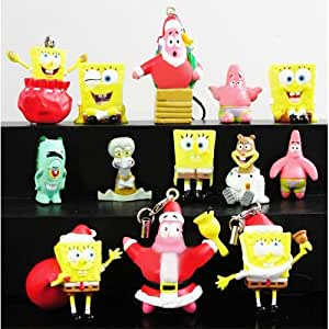 Spongebob Squarepants Patrick Sandy Figures Set Of 13