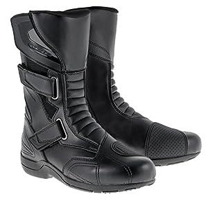 Alpinestars Roam 2 Waterproof Touring Motorcycle Boots CE Certified Black Euro 38 US Size 5 by Alpinestars